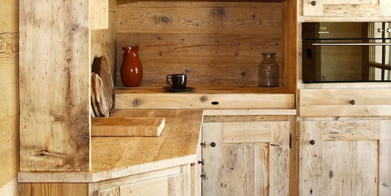 Falegnameria clavel cucine for Piani di casa vacanza rustica